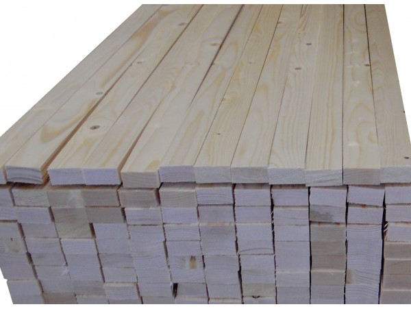 1x2 - 6 Ft. Premium Allwood Pine Board | Dealer Pack 486 board feet
