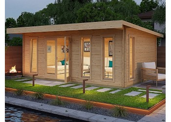 Allwood Aruba | 211 SQF  Cabin Kit - FREE SHIPPING - Financing Available