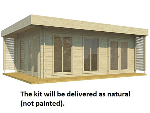 Allwood Bonaire | 225 SQF  Cabin Kit - FREE SHIPPING - Financing Available