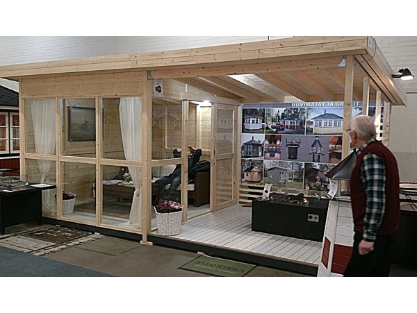 Allwood Solvalla | 172 SQF kit cabin - FREE SHIPPING - Financing Now Available