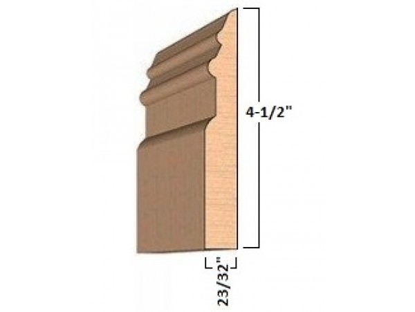 1 in x 5 in x 6 ft. Select Pine Baseboard Moulding (bundles from 2 to 50 pieces)