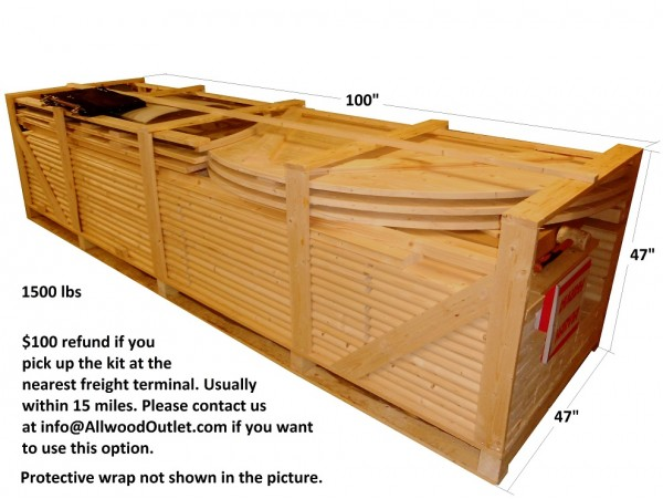 Allwood barrel sauna model 250-WHP * WOOD HEATER * Financing Now Available